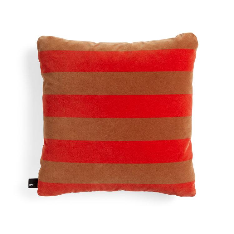 HAY HAY cushion Soft Stripe red 50 x 50 cm