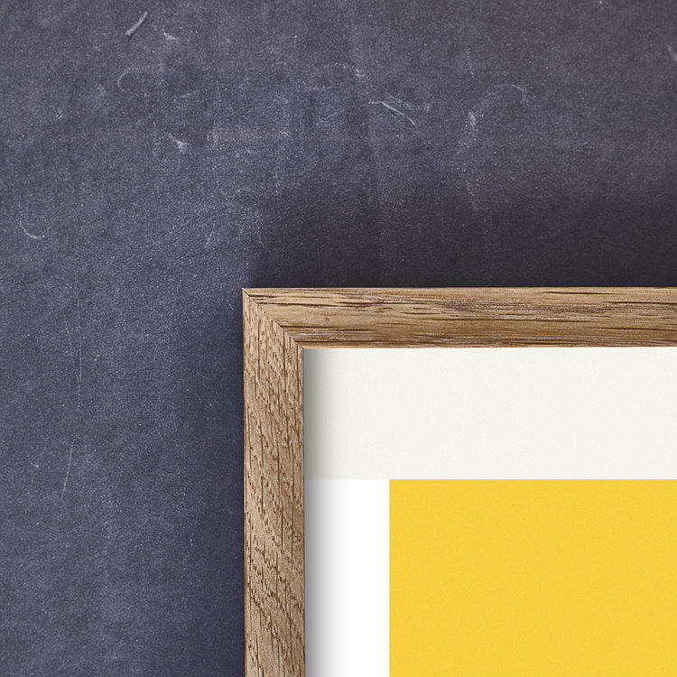 Paper Collective Frame 30x40 oak