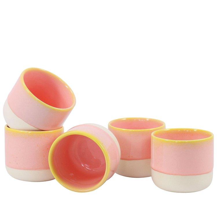 Arhoj Arhoj beker Sip Cup Pink Grapefruit