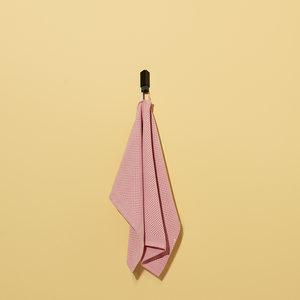 HAY HAY set of 2 tea towels Check pink