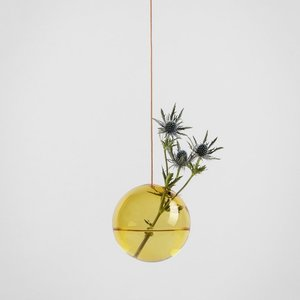 About Form And Function Flower Bubble hanging large yellow