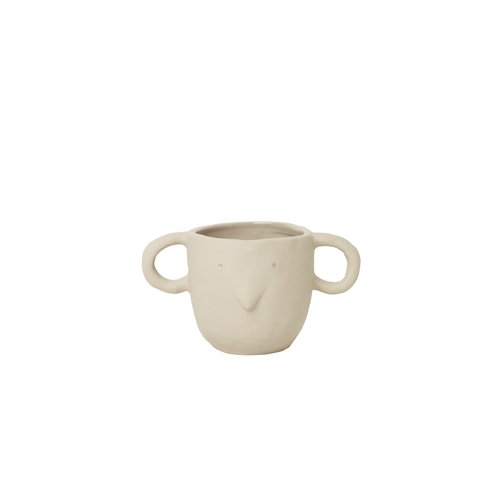 ferm LIVING Mus Plant Pot sand small