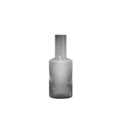 ferm LIVING Carafe Ripple grey