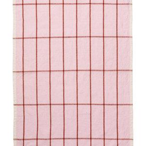 ferm LIVING Hale Tea Towel - Rose/Rust