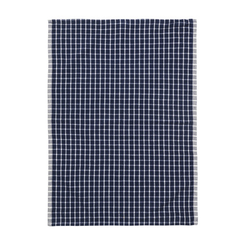 ferm LIVING Hale Tea Towel - Blue/Off-White