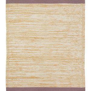ferm LIVING Dusty Rainbow Blanket - Mustard