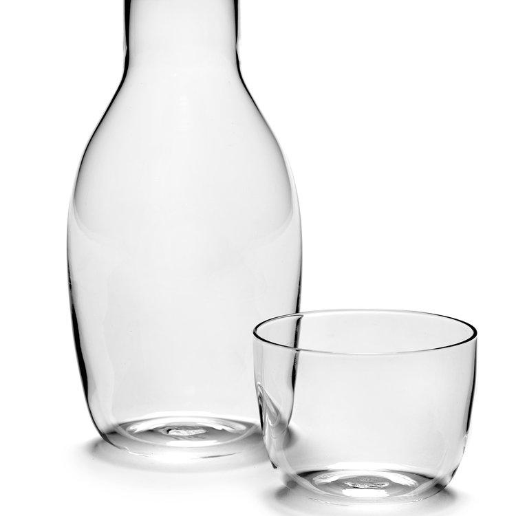 Serax  carafe+ glass