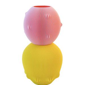 UAU project UAU project vase Sensual pink yellow