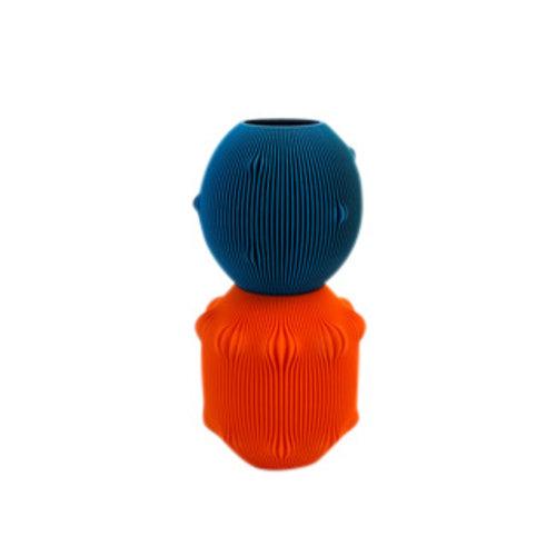 UAU project UAU vaas Sensual oranje blauw