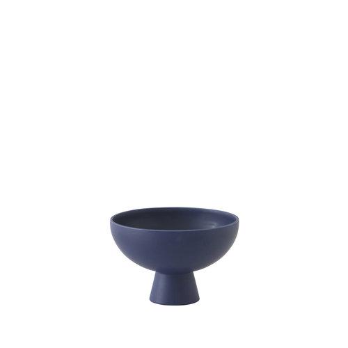 raawii Strøm bowl small dark blue