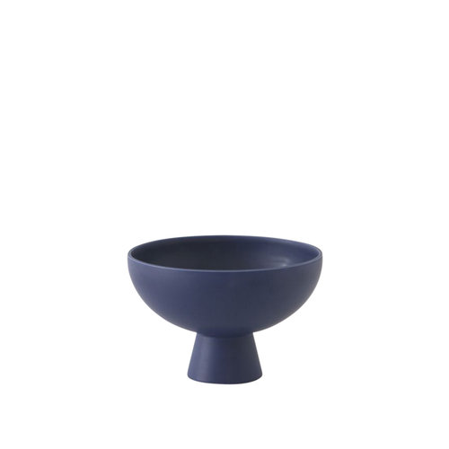 raawii Strøm bowl medium dark blue