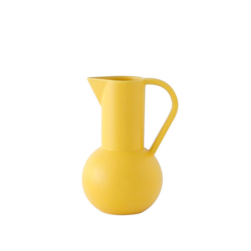 raawii Strøm jug medium yellow