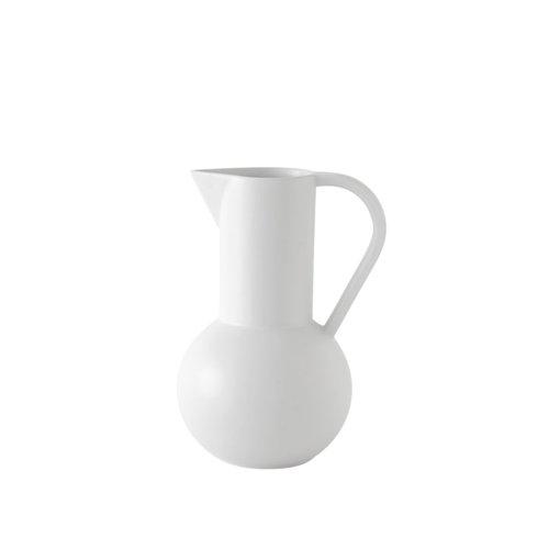 raawii Strøm jug medium white