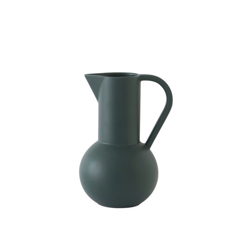 raawii Strøm jug medium green