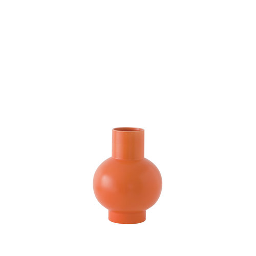 raawii Strøm vase small orange