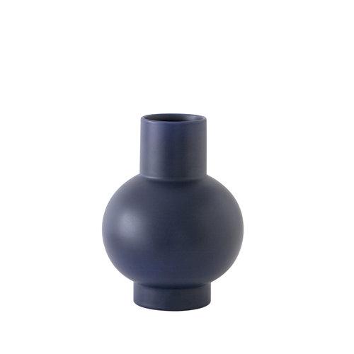 raawii Strøm vase large dark blue