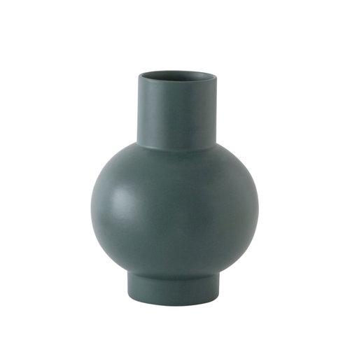 raawii Strøm vase XL green