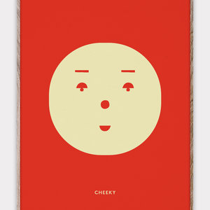 Paper Collective Print Cheeky Feeling 30x40