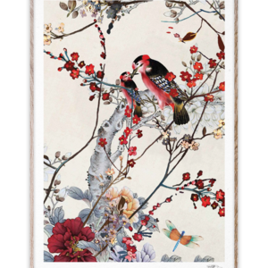 Paper Collective Print Birds 50x70