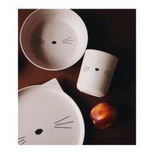 Liewood Bamboo tableware box Cat rose