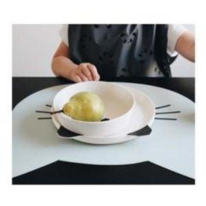 Liewood Bamboo Tableware Box Set - Panda creme de la creme