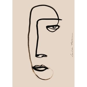 Paper Collective Print Serious Dreamer 30x40