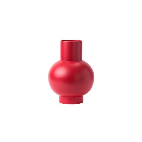 raawii Strøm vaas groot rood