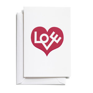 Vitra Vitra greeting card Love medium