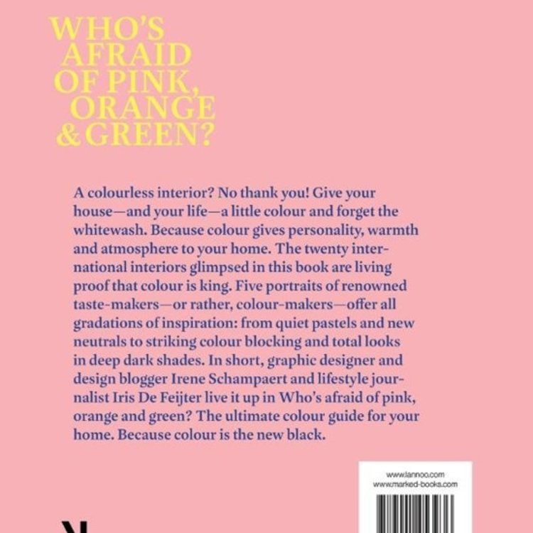 Book Who's Afraid Of Pink, Orange & Green