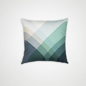 Vitra Vitra cushion Herringbone blue 40x40cm