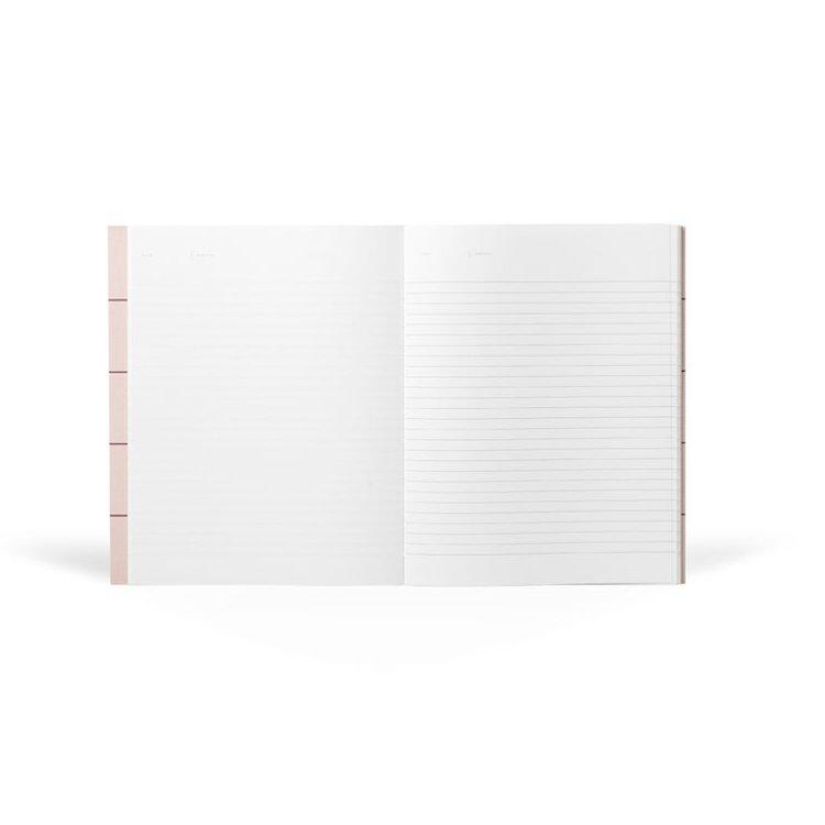 Notem Notem notebook roze ruit