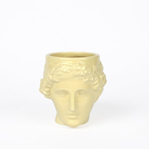 DOIY mug Euphrosyne yellow