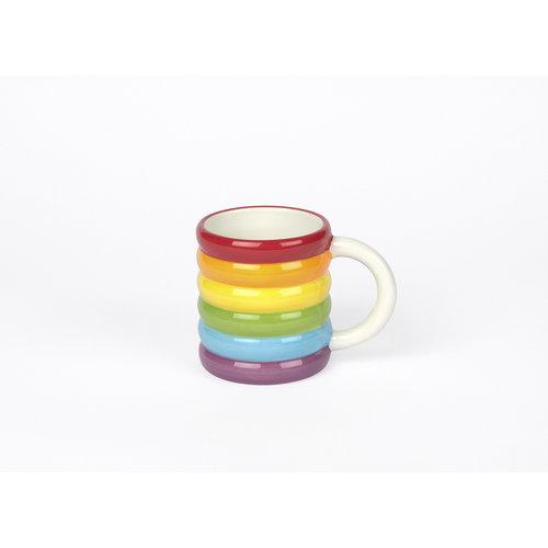 DOIY beker rainbow