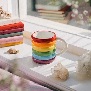 DOIY mug rainbow