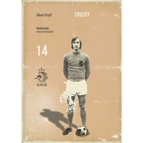 Sergeant Paper Print Cruyff 4 50x70