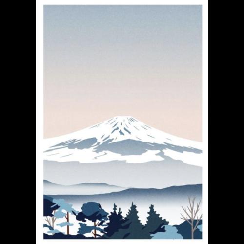 Sergeant Paper Print Mont Fuji 50x70