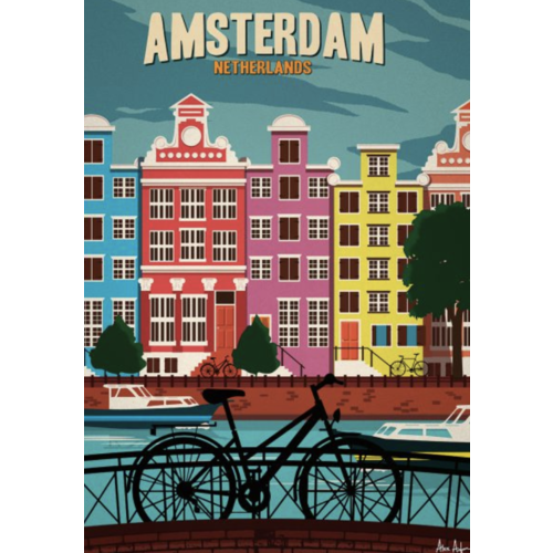 Sergeant Paper Print Amsterdam 30x42