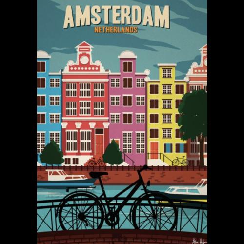 Sergeant Paper Print Amsterdam 50x70