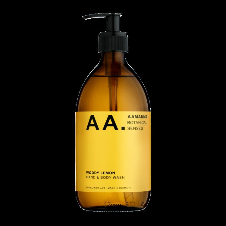 Aamanns Aamanns hand & body wash Woody Lemon