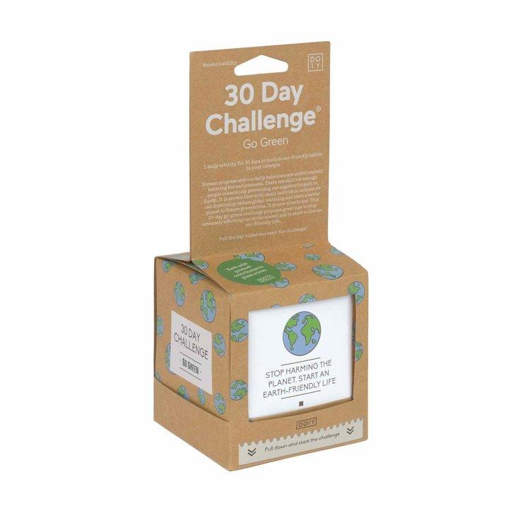 DOIY 30 day go green challenge