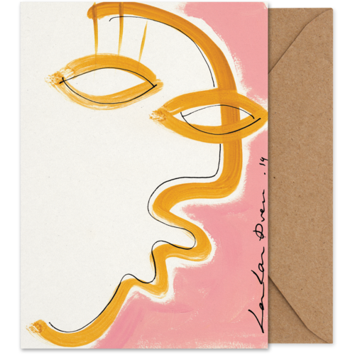 Paper Collective Paper Collective art card Gentil