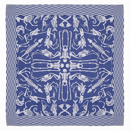 Textielmuseum Studio Job tea towel Perished blue