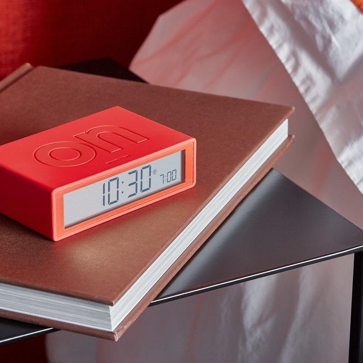 Lexon Lexon wekker Flip+ rood
