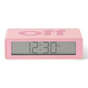 Lexon Lexon wekker klok Flip+ roze