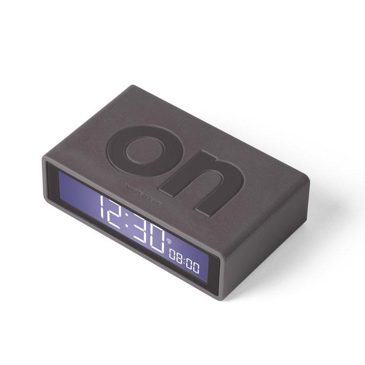 Lexon Lexon alarm clock Flip+ dark grey