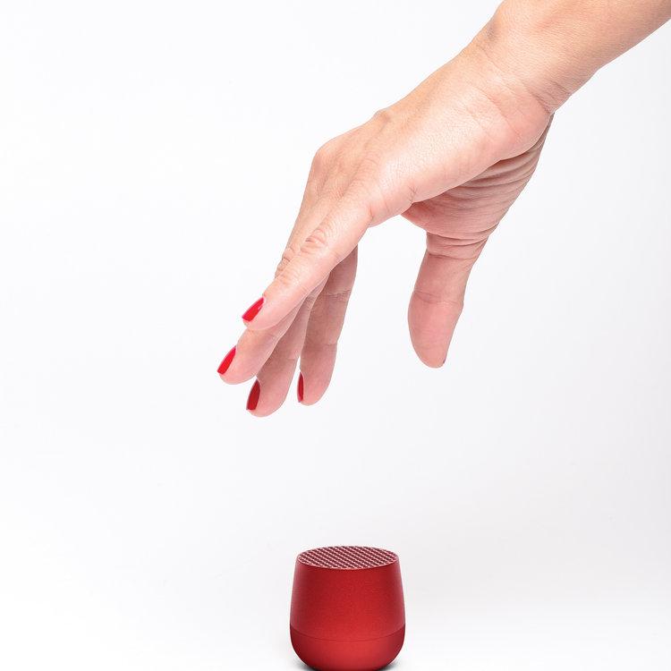 Lexon Lexon mini speaker Mino rood