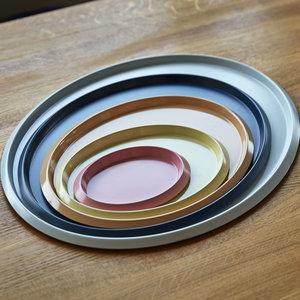 HAY HAY tray Ellipse medium beige
