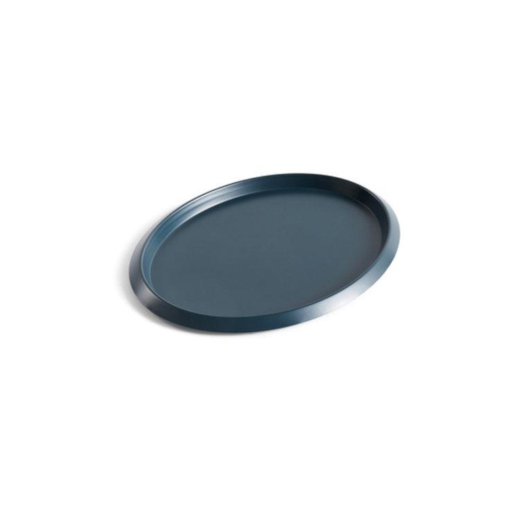 HAY HAY tray Ellipse small dark green