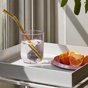 HAY HAY tray Ellipse tray extra small pink