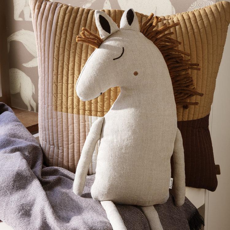 ferm LIVING ferm LIVING kussen Paard naturel